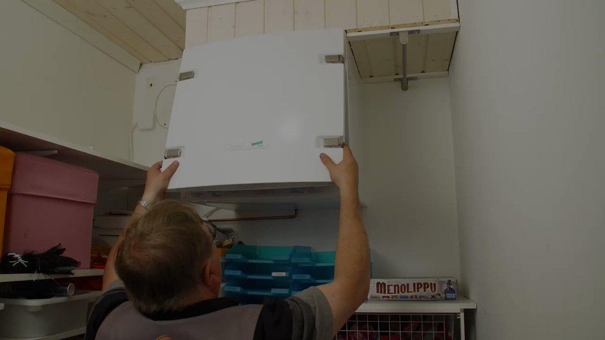 Meidän Anterohan se siellä! Koska teidän kodin ilmanvaihtokone on viimeksi putsattu? #energiansäästöviikko #energianeuvoja