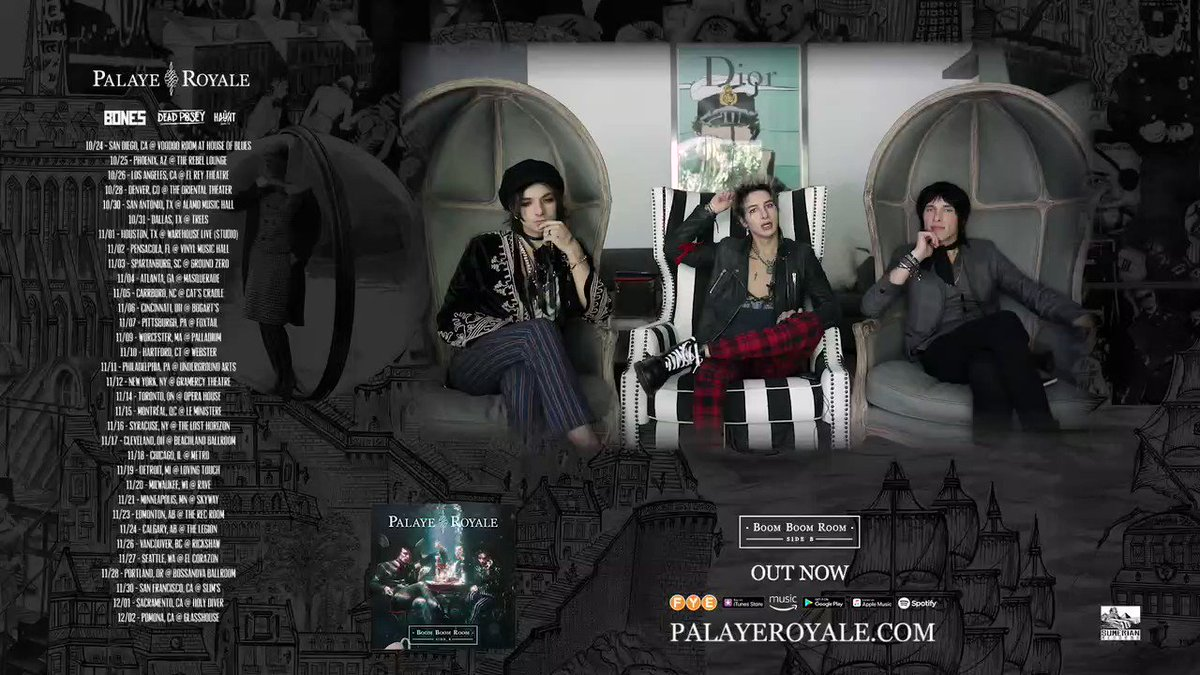 Palaye Royale Return With New Single Fucking With My Head