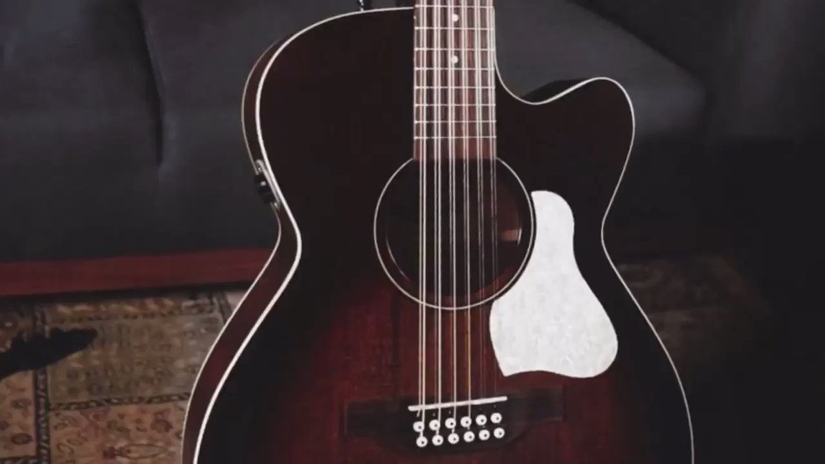 (FULL DEMO VIDEO: https://www.youtube.com/watch?v=oXrx-ueb59o…)  The Art & Lutherie Legacy CW 12 offers excellent playability with a vintage feel. The addition of a cutaway offers easy access to the upper frets, while the comfortable Concert Hall body size makes this 12-string a dream to play.