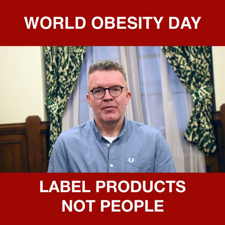 Some idiot politician is bound to mark #WorldObesityDay by demanding people take personal responsibility. But if you dont know whats in your food how can you take responsibility? Its time to stop the shaming, and give people the info they need. Lets label products not people.