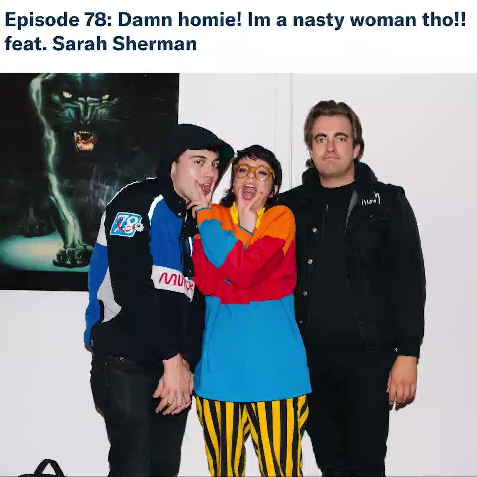 new @YeahStill w @SarahSquirm 🤪🤪🤪 full episode on patreon.com/yeahbutstill