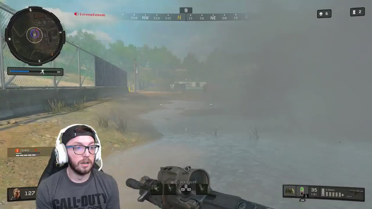 @ChrisCovent get his #FirstGame 7-Kills #Xbox #MixerSolos #Blackout #Victory!  GG bro!  Courtesy of #MixerClips: