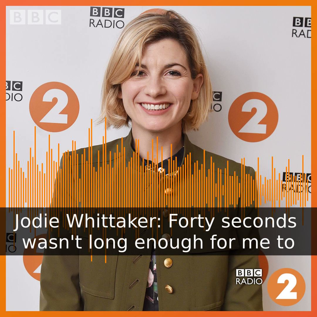 #ICYMI Jodie was on @BBCRadio2 with the @backstreetboys. Listen to the full interview here: bbc.in/2IQckig