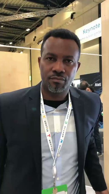 Okeys Ononiwu, Product Manager for OpenScape Contact Center, demonstrated OSCC Virtual Agent...