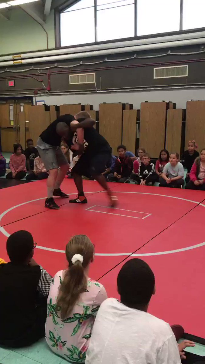 The students at Henry J Winters are super excited for the Providence County Wrestling Club! PCWC promotes a healthy lifestyle, builds self-esteem and access multiple learning opportunities after school! #wintersrocks #wrestling #PCWC #exercise @PawtucketSup @WintersWildcats