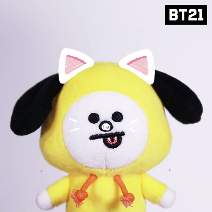 You are the most beloved one,#CHIMMY Be happy today😘💕 #BT21