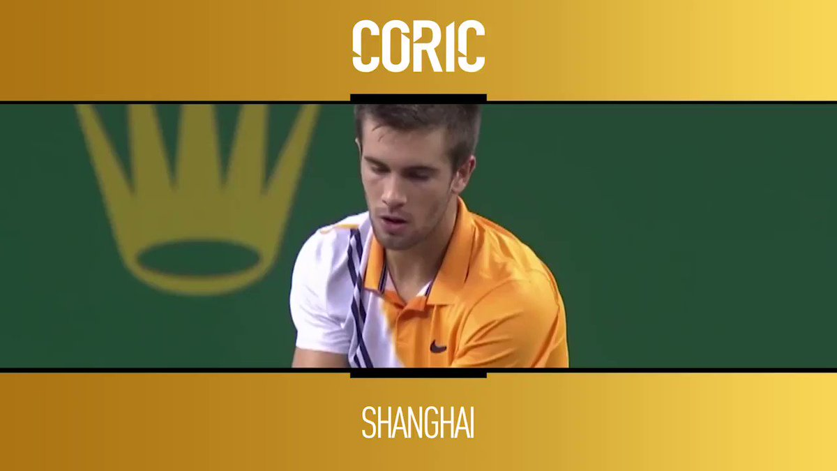 Remember the name...  Absolute perfection from @borna_coric ��  Watch the @SH_RolexMasters live on @TennisTV �� https://t.co/vD8sA6Lerb