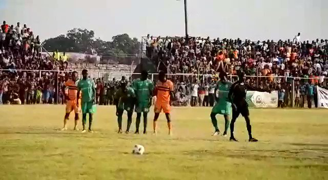 A look at the goal that made all the difference. Tapson Kaseba scored in the 80th Minute #TONKATWEENDE