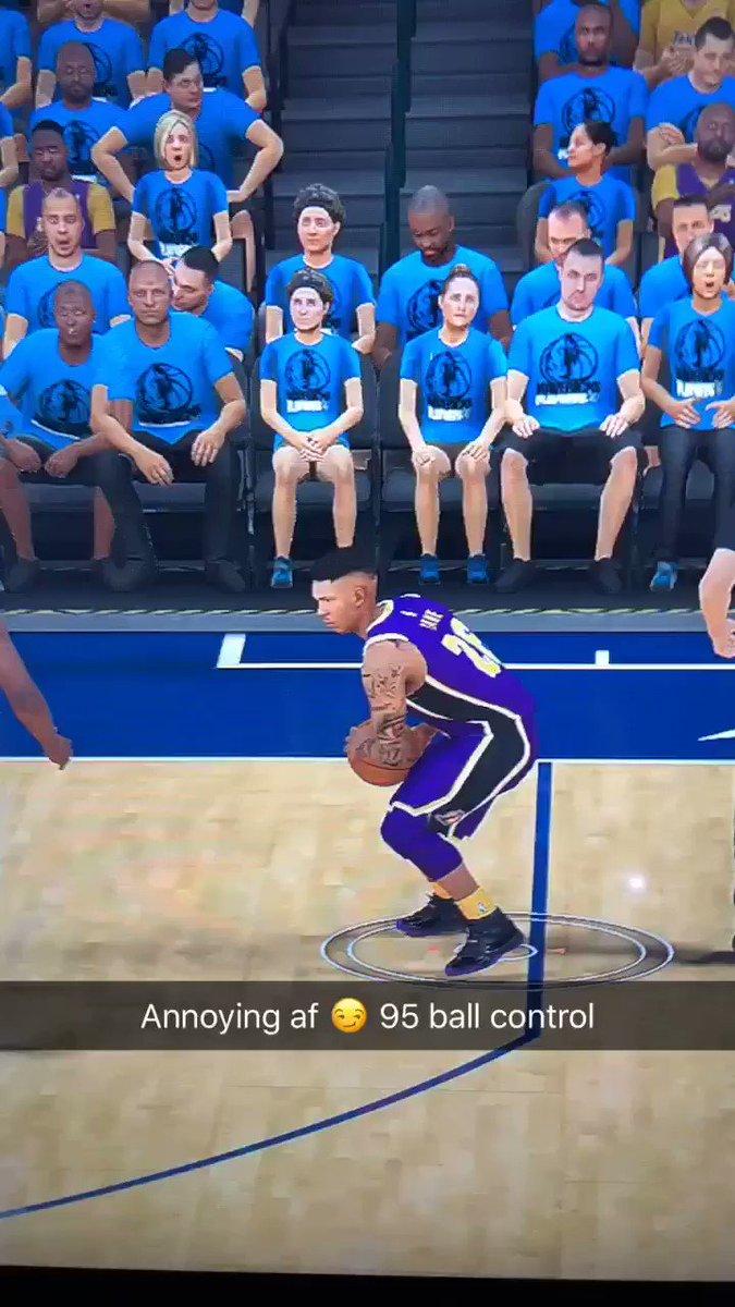 DeAndre Jordan got better ball control 🤬😏 @NBA2K @Ronnie2K #NBA2K19  #NBA2K