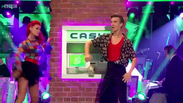It's a ten from me 🤪🤩 Nice one @joe_sugg & @dbuzz6589!! 🙌🏼 #JustGotPaid #Strictly