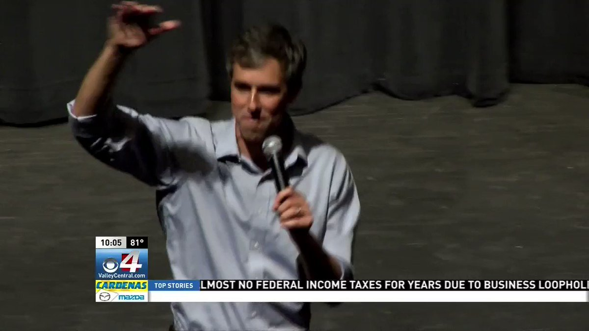'This is one of the multiple times O'Rourke has made his way to the Rio Grande Valley this month.' https://t.co/VHFuTlsuuW