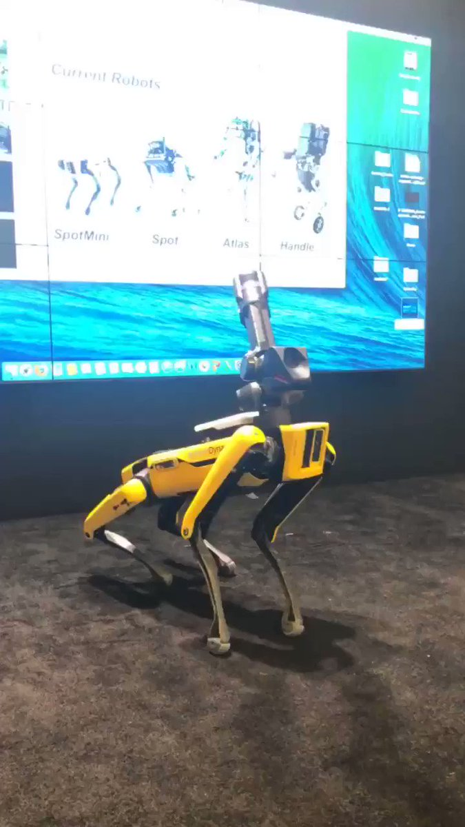 Stayed tuned . . . Look who's here for our #WIRED25 festival courtesy of @BostonDynamics. https://t.co/FadXPEaby6
