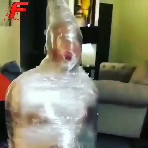 redhead-wrapped-in-saran-wrap