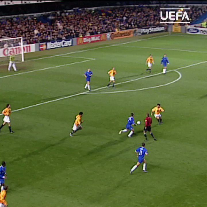 �� Deschamps only scored 1 #UCL goal... ⚽️  ... And it was a beauty! ��  @ChelseaFC https://t.co/NU4GNIB5rB