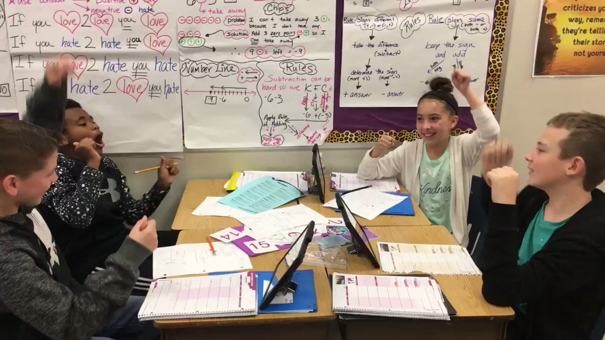 What an amazing learning environment in 6th grade math! Today students were positively engaged as they checked their study guides cooperatively! <a target='_blank' href='http://twitter.com/DemaoHeather'>@DemaoHeather</a> <a target='_blank' href='http://twitter.com/TJMSMath'>@TJMSMath</a> <a target='_blank' href='http://search.twitter.com/search?q=kaganshowdown'><a target='_blank' href='https://twitter.com/hashtag/kaganshowdown?src=hash'>#kaganshowdown</a></a> <a target='_blank' href='https://t.co/yvu4Yvdiep'>https://t.co/yvu4Yvdiep</a>