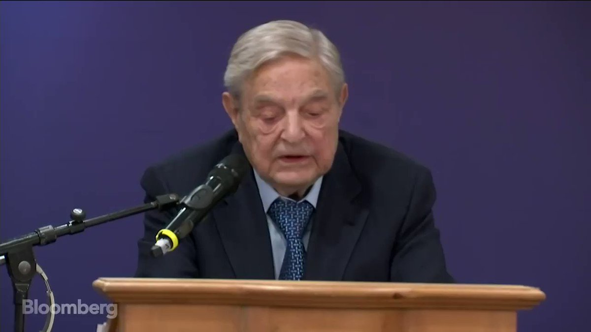 Nazi Collaborator Soros: The Trump Administration will disappear in 2020 ...  OR EVEN SOONER                                            Sounds like a threat👿