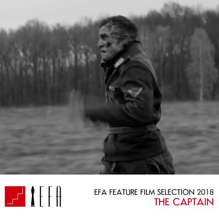 In the last moments of WWII, a German soldier fighting for survival finds a Nazi uniform and takes on the monstrous identity of the perpetrators he is trying to escape from.  A to Z #EFA2018 Feature Selection:THE CAPTAIN (DER HAUPTMANN) by Robert Schwentke http://bit.ly/EFA2018TheCaptain …