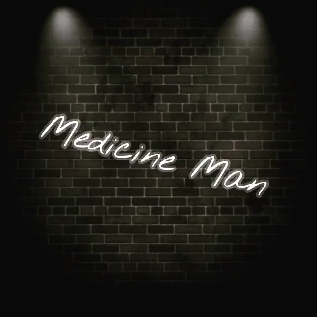A very happy birthday  to Already 17th here in India. Lots of love and here\s my version of Medicine Man.