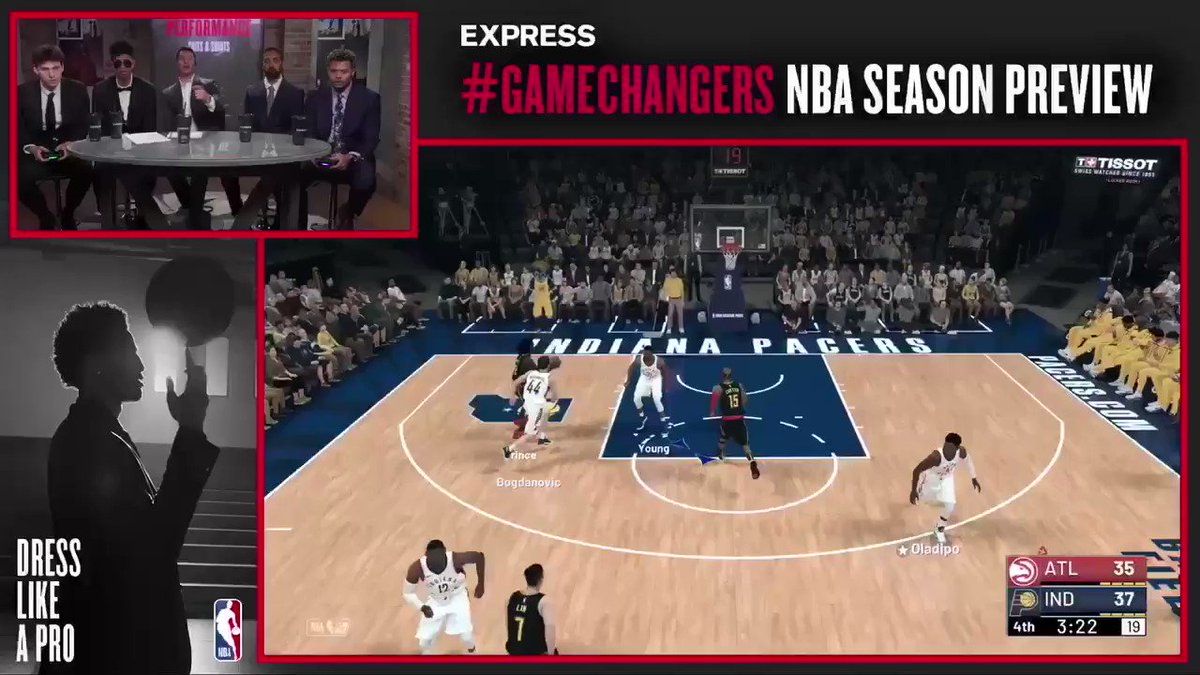 .@Jesser's reaction after hitting the 3 with Trae Young ����  @express #GameChangers  WATCH: https://t.co/R8zf7MzJxS https://t.co/0vUv7HIPaP