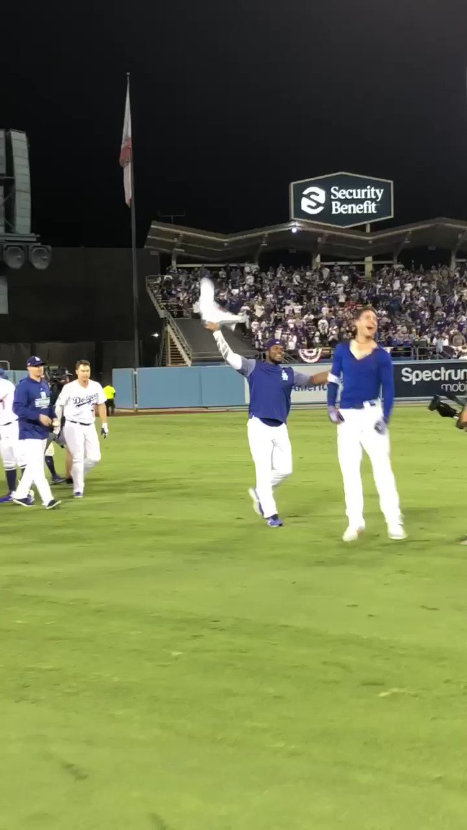 NOT GOING DOWN WITHOUT A FIGHT. LET'S GO! #LADetermined https://t.co/DhPBgga1oI