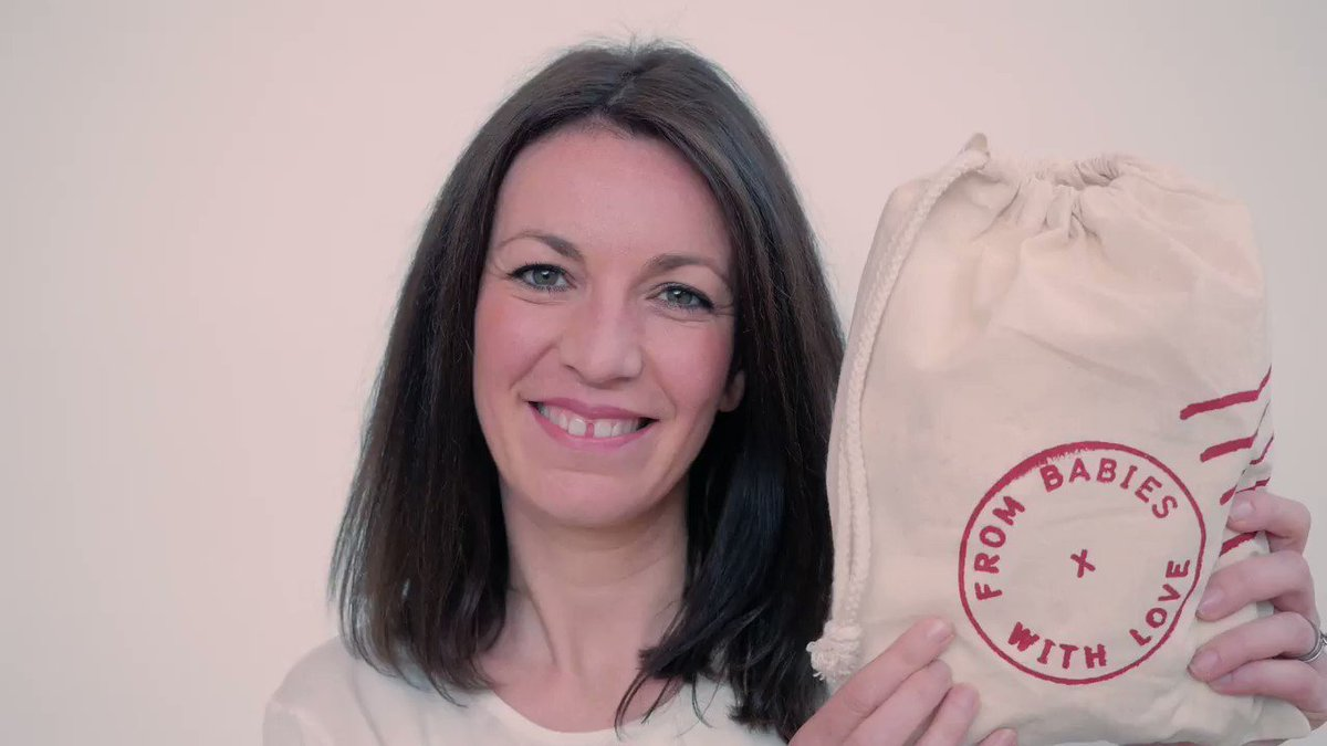 Our #WednesdayMotivation - Cecilia Crossley talks with @mrchrisaddison about why you should #BuySocial and choose @frombabies #WednesdayWisdom #socent