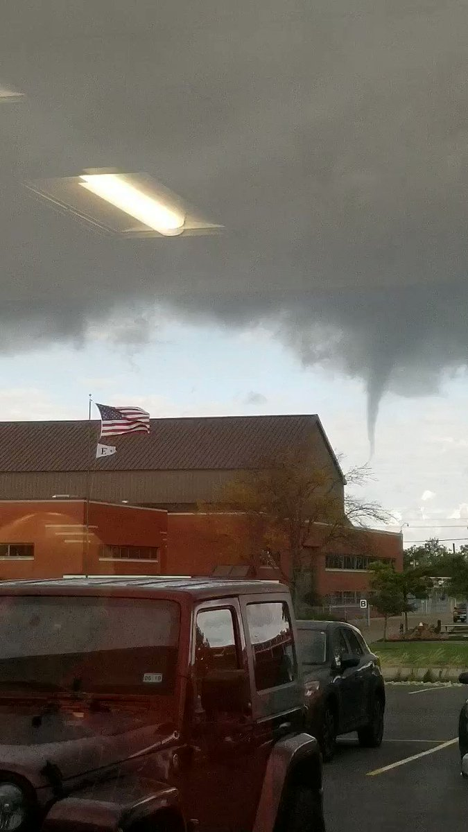 This morning near Cleveland, OH.  #ohwx