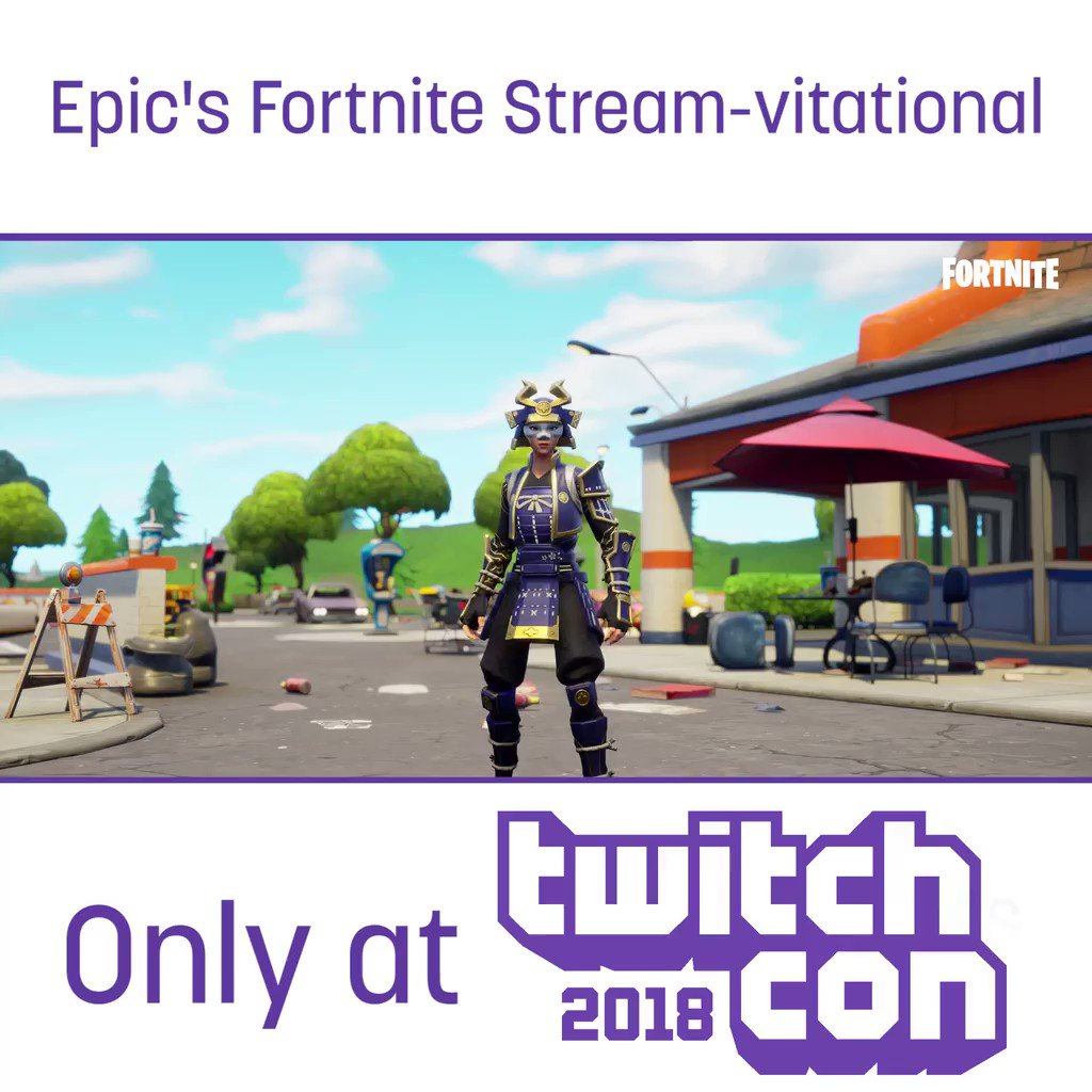 You dont have to be a pro, but can you praise the tomato? Then you can compete in Epics $750,000 Fortnite Stream-vitational at TwitchCon. Registration info is coming soon, so get your tickets now: TwitchCon.com