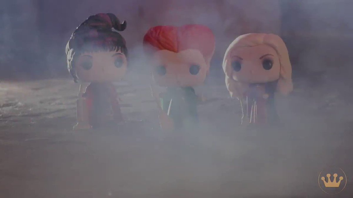 Its just a bunch of Hocus Pocus! Dont forget to watch Hocus Pocus on @Freeform for @31Nights of Halloween! Find our Hocus Pocus Pop!s at @SpiritHalloween!