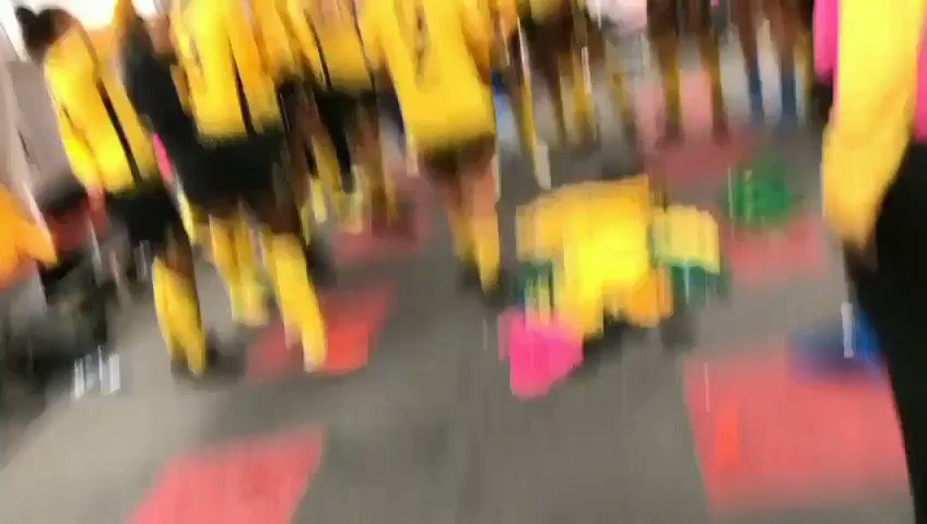 WATCH: Jamaicas #ReggaeGirlz celebrate in their dressing room after their historic 4-2 penalty shoot-out victory over Panama earned them a spot in the Womens #WorldCup - Contributed video