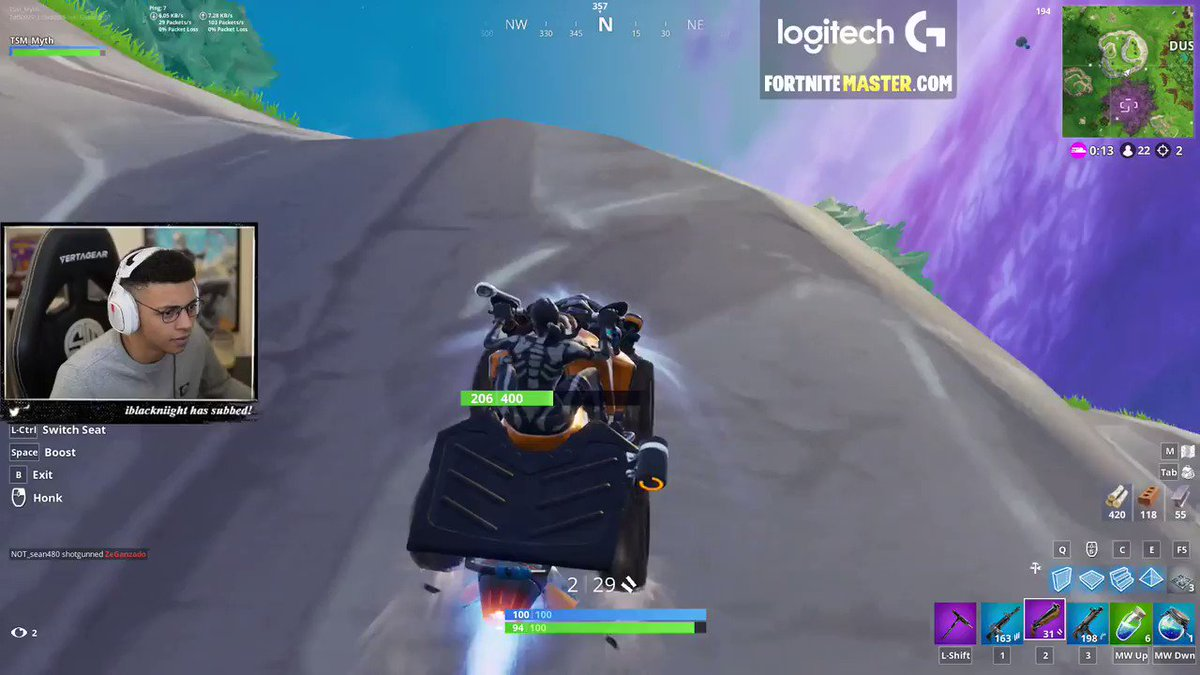 The only thing better than the kill was his reaction! via twitch.tv/tsm_myth/