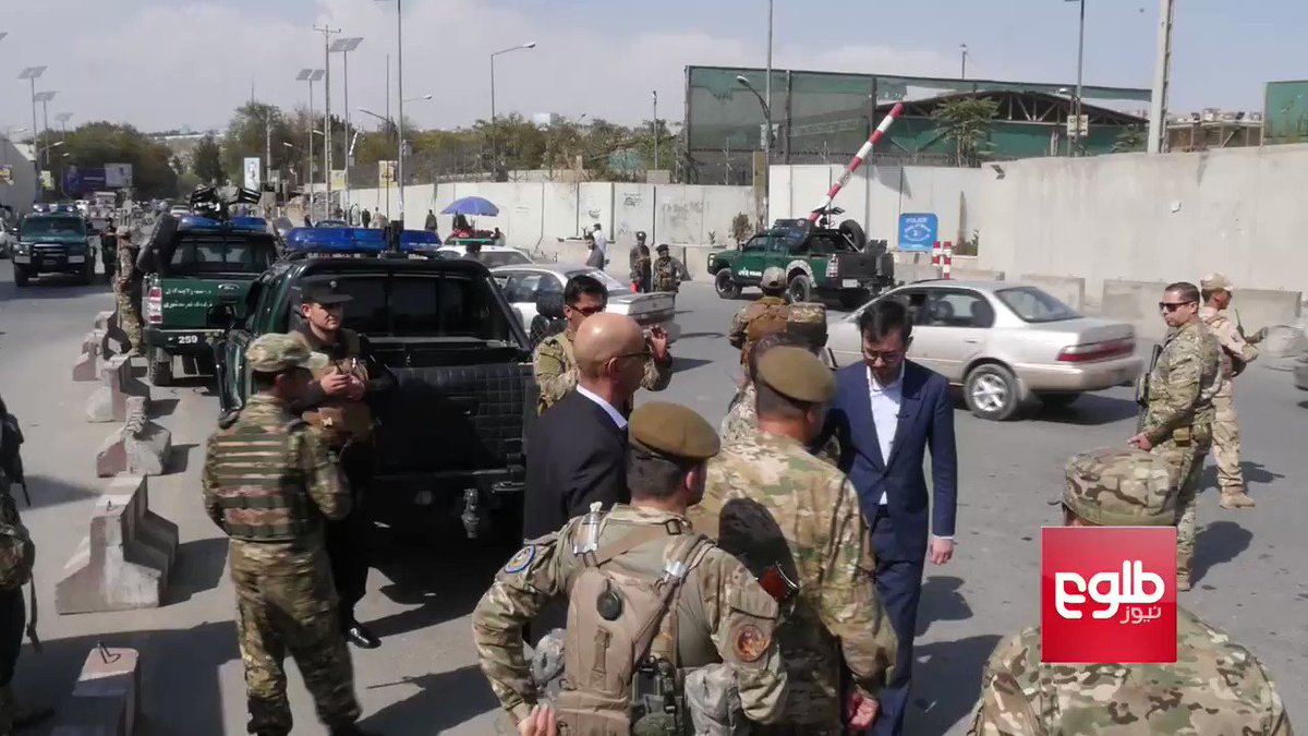 Gen. Austin Scott Miller, Commander of #US and #NATO Forces in #Afghanistan, took to #Kabul streets on Friday morning to chat with Afghan forces to make sure they were ready for Saturday's elections.