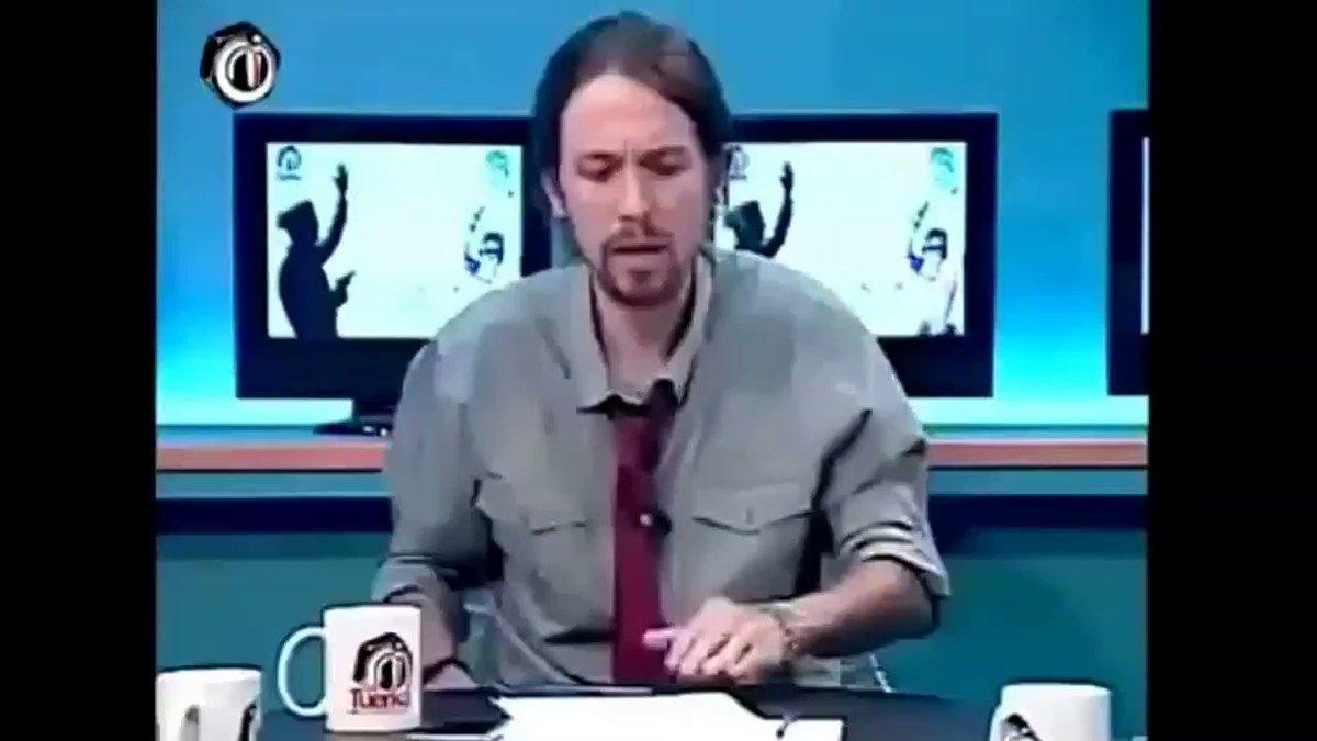 Santiago Abascal's photo on Pablo Iglesias