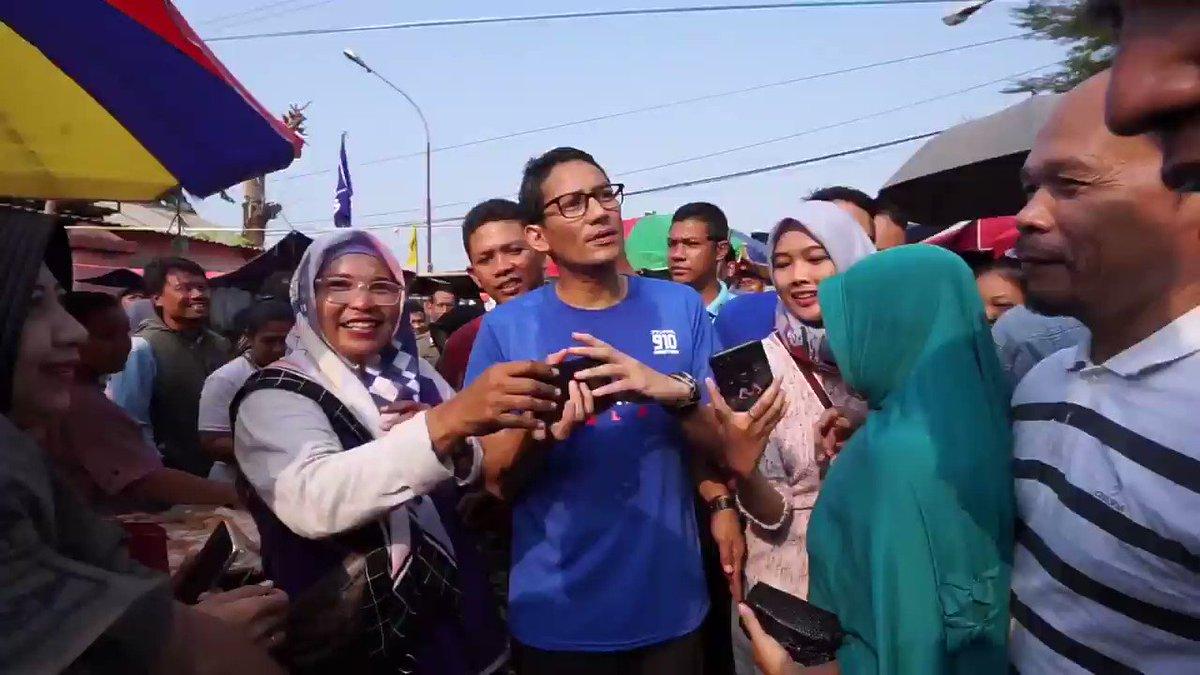 Sandiaga Salahuddin Uno's photo on #weekend