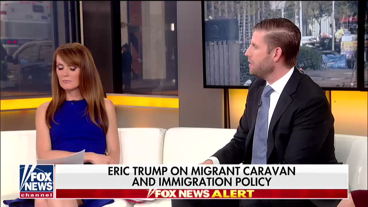 """.@EricTrump: """"You have to protect the country, you have to protect the border."""" https://t.co/93mrio6jLg"""