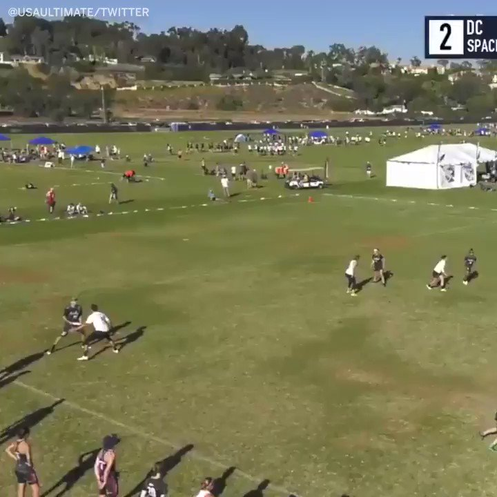 Come for the catch, stay for the toe tap �� #SCtop10 (via @USAUltimate) #SCtop10 https://t.co/wSQy4fxDPA
