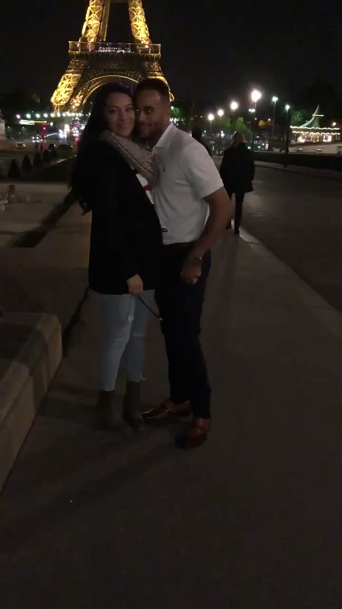 Flew my best friend out to Paris for a getaway trip, and she left as my fiancé.