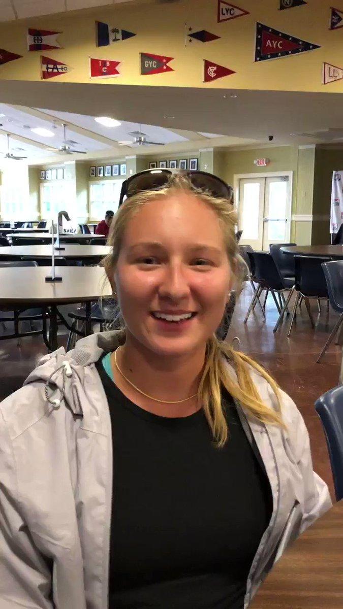 Image for the Tweet beginning: Guest skipper Megan Ploch talks