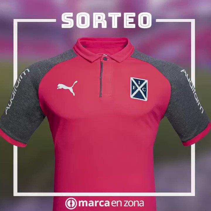 ¡Nuevo sorteo! Gracias a @PUMAArgentina, sorteamos la camiseta especial que usará Independiente en apoyo al #DiaContraelCancerdeMama  Para participar: - Seguir a @MarcaEnZona  - Hacer RT #OctubreRosa  #OrgulloNacional