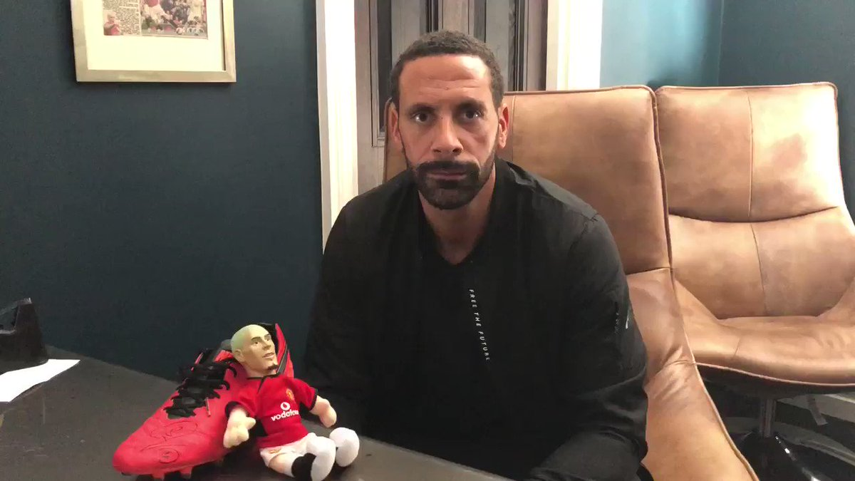 Rio Ferdinand's photo on #MUFC
