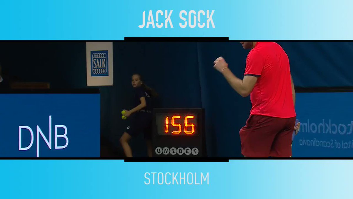 Serve and tweener, brought to you by @JackSock ��  Watch the @IntrumSthlmOpen on @TennisTV �� https://t.co/4xFX7Hu4xJ