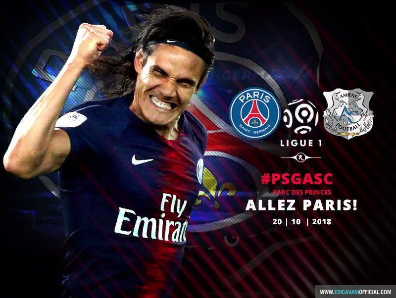 Edi Cavani Official's photo on #PSGASC