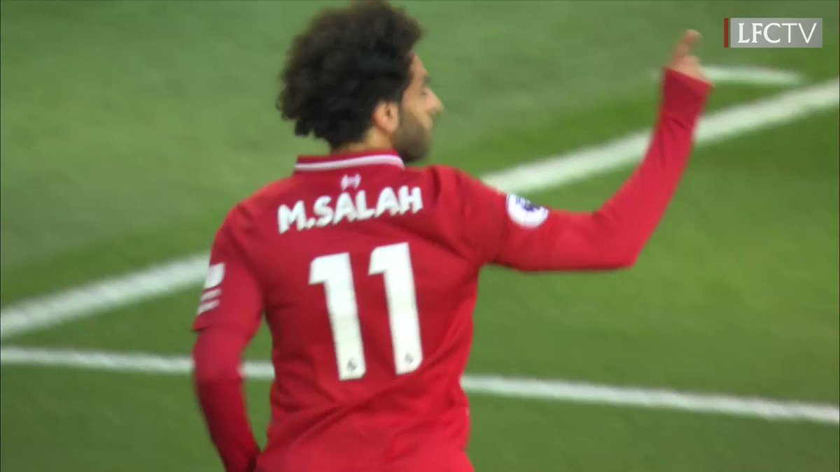 GOAL!! Brilliant finish! @MoSalah's 50th goal in English football! ��  [0-1]  #HUDLIV https://t.co/8P5FdCTuEj
