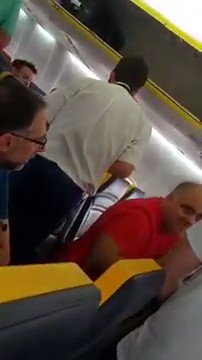 It's a fucking disgrace that this vile, disgusting man wasn't removed from the flight and arrested. What the hell are you doing, @Ryanair?