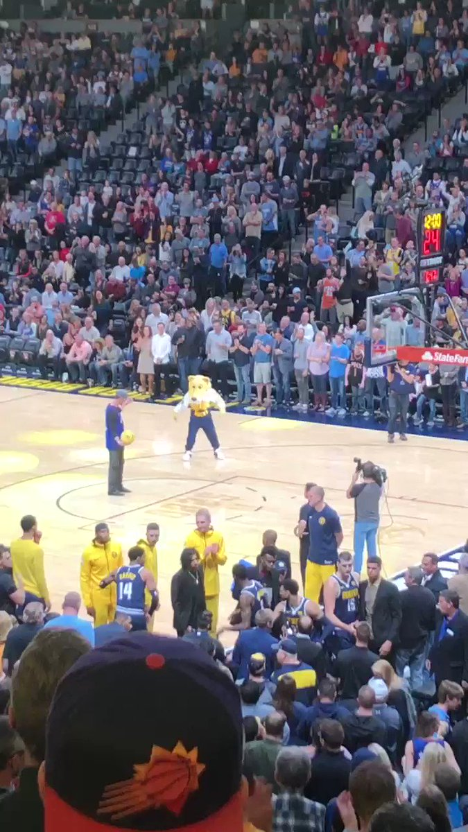 yo @KFREE_21 got game �� #nuggets @Rockies @nuggets https://t.co/DeMkCjG4qS