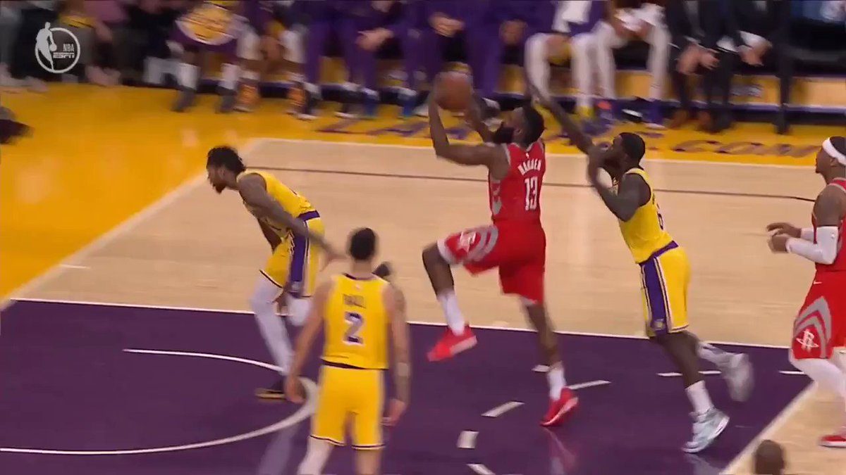 How the fight started between the #Rockets and #Lakers!!