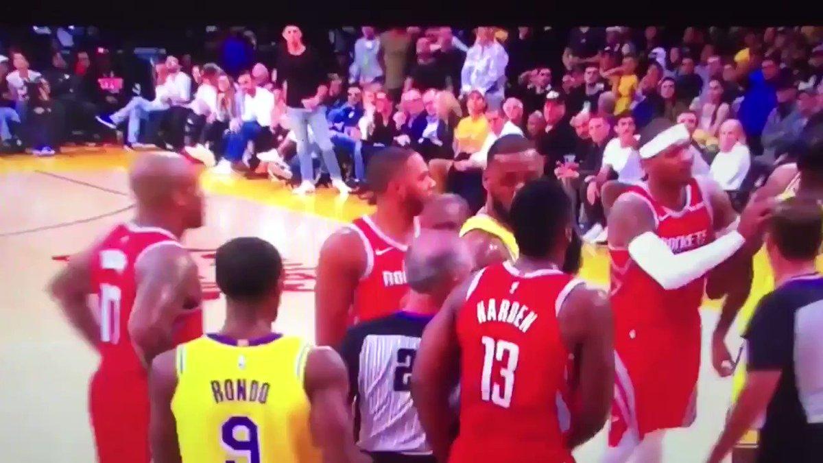NBA suspends Brandon Ingram, Rajon Rondo and Chris Paul for Lakers-Rockets fracas