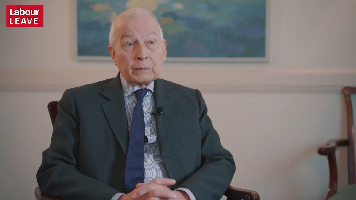 Frank Field says its a myth Labour was always pro-EU. Every time he has voted against the EU there were two men always there with him: Jeremy Corbyn and John McDonell. #Brexit