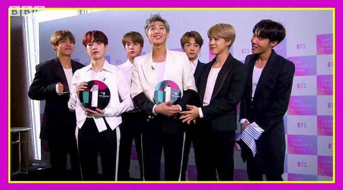 BTS gana como Mejor Grupo Internacional y Mejor Estrella de Redes Sociales en los Teen Awards 2018 de BBC Radio 1 3