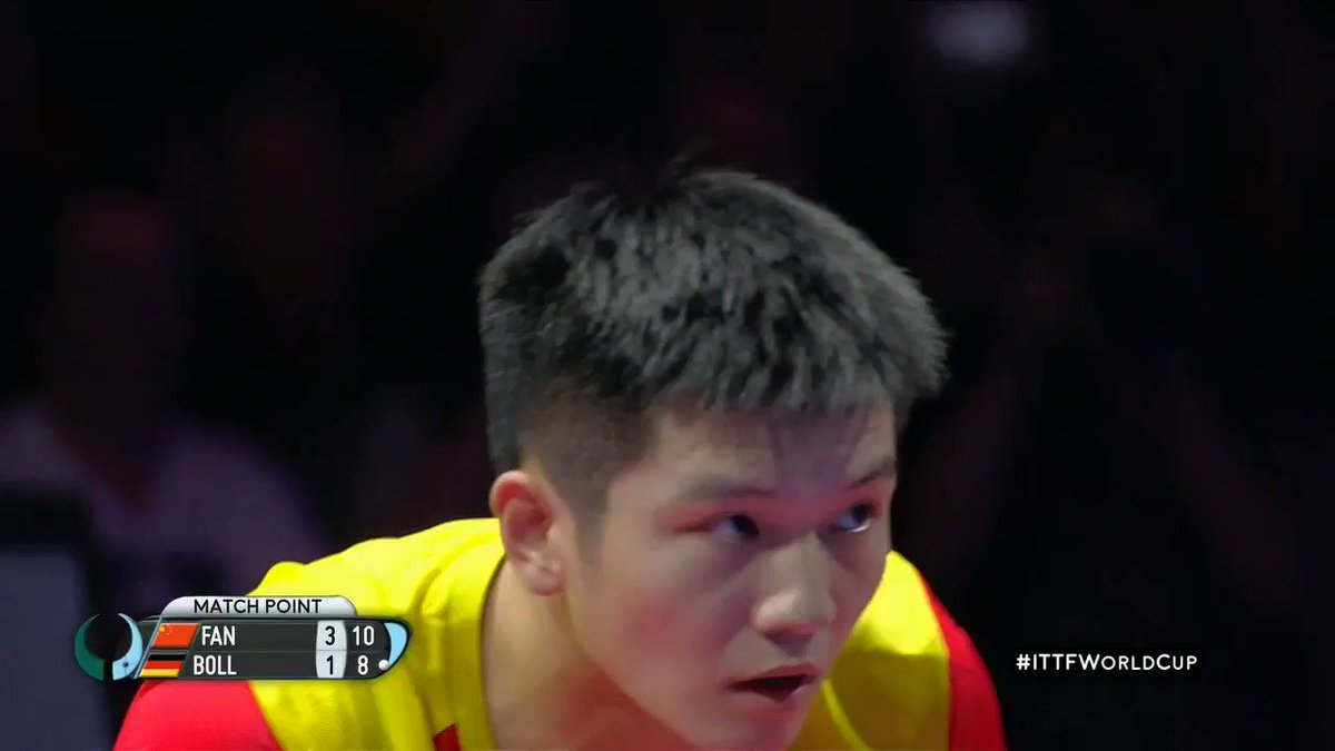 Congratulations to Liebherr 2018 Men's #ITTFWorldCup winner Fan Zhendong 🇨🇳🏆🔥 #SimplyTheBest
