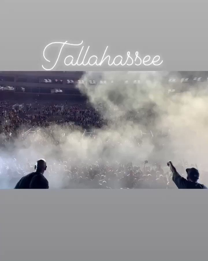 Tallahassee was live as Fu*k ! Oakland The Atliens have landed ! #LiberationTour https://t.co/hw4S9IV9LQ